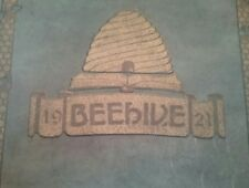 Vintage 1921 Year Book New Britain CT High School  Beehive Soft Cover Rare