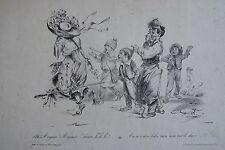 GRANDVILLE (Jean-Ignace- Isidore Gerard dit) (1803-1847) : « Ah ! Mayeux !Mayeu