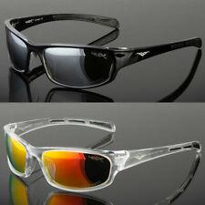 Polarized Wrap Around Fashion Mens Sunglasses Fishing Golf Running Sport Glasses