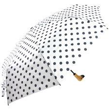 Susino Duck Black & White Folding Umbrella - Polka Dot