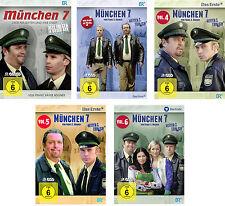 17 DVDs *  MÜNCHEN 7 -  STAFFEL  1 - 6 IM SET -  GIEBEL , KINSEHER  # NEU OVP §