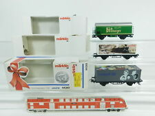 BC593-0,5 #3 Märklin H0 Freight Car 44261 Unicef+Bitburger+Info-Days 1996 Mint +