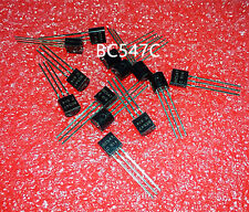 50PAIR/100PCS    BC547C + BC557C  BC547 + BC557   TO-92   NPN   Transistor