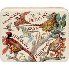 Emma Bridgewater Game Birds Deep Rectangular Metal Storage Tin