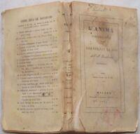 BARTOLOMEO BAUDRAND L'ANIMA CONTEMPLATIVA GRANDEZZE DI DIO 1845 PECCATO PARADISO