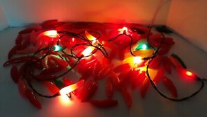 24/5 Jalapeno Chili Pepper Party Lights Total 121 Multi Color