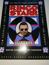 The Beatles Ringo Starr And His All Starr Band 1992 Original Tour Program.
