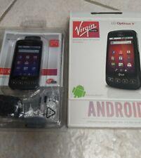 LG Optimus V VM670 - Black (Virgin Mobile) Smartphone New Open-box 3G Android