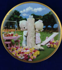 Precious moments collector plate Thee I Love hamilton collectors numbered plate