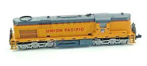Vintage N Scale Union Pacific Diesel Locomotive Yellow