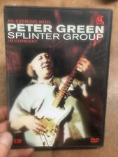 An Evening with Peter Green Splinter Group:In Concert(UK DVD)2003 Tour 147mins
