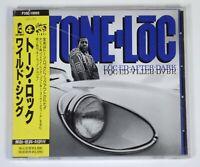 Tone-Lōc* - Lōc'ed After Dark Japan CD OBI PROMO ISLAN_ P30D-10005