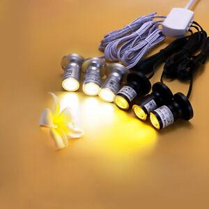 Mini LED Light Fixture Picture Spotlight Adjustable Desk Lamp Power Adapter Hub