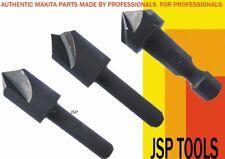 Avellanado Bit Set Endurecido Acero Templado Madera Metal se ajusta Makita Dewalt Bosch