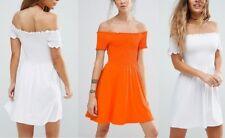 NEW WOMENS LADIES PETITE Shirred Bandeau Mini Sundress RRP £ 9.99