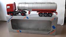 Lion Toys DAF 95 Tank hummer camión cisterna metal 1:50 org. en OVP demo Promo