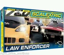 BRAND NEW Scalextric Digital Law Enforcer Race Set C1310 Slot Car Racing