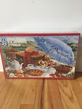 F X Schmid Puzzle 3000 Piece Blue Parasol by Janet Kruskamp SEALED