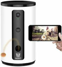 WOpet Smart Pet Camera:Dog Treat Dispenser, Full HD WiFi Pet Camera