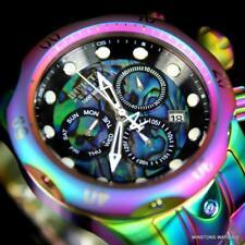 Invicta Reserve Venom Iridescent Abalone Chronograph 52mm Swiss Mvt Watch New