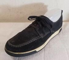COLE HAAN Men sz 11.5M Navy Blue SUEDE Leather LACE UP Shoes  FT C12583 E 14