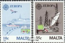 Malta 794-795 gestempeld 1988 Europa