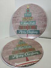 Holiday Tree Stove Burner Covers Set 4