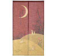 NOREN JAPANESE Curtain Doorway Divider Tapestry JAPAN MADE 85X150cm Lovely 14253