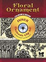 Floral Ornament CD-ROM and Book by Carol Belanger Grafton