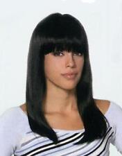 Carmen Wig Long Straight W/ Bangs Cleopatra Drag Queen Cosplay Anime Dancer