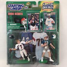 1998 STARTING LINEUP NFL CLASSIC DOUBLES JOHN ELWAY & DAN MARINO