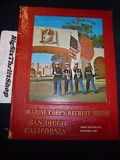 US Marine Corps RECRUIT DEPOT MCRD San Diego 1966 Yearbook 3062 Boot camp