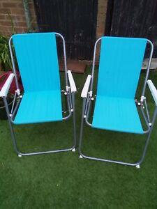 Vintage folding Chairs, Camping, Fishing, Garden Etc.