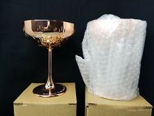ABSOLUT ELYX copper stemmed cocktail cup  SET OF 2 New