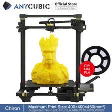 EU Anycubic Imprimante 3D Chiron Niveau automatique 400 * 400 * 450mm TPU PLA
