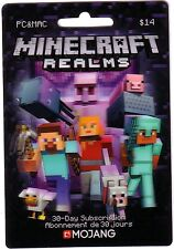 Minecraft Realms Mojang 3D Holo Card figure toy NO $Value 0 BALANCE Collectible