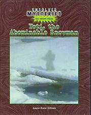 Yeti, the Abominable Snowman Library Binding Laura Anne Gilman