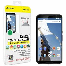 AMZER 8-9H TEMPERED GLASS HD SCREEN PROTECTOR FOR GOOGLE NEXUS 6 XT1100 XT1103