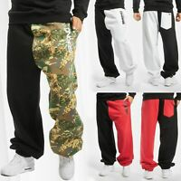 Herren Jogginghose DNGRS Sweat Pants Half Two-Face Sport Urban Jogger Hose