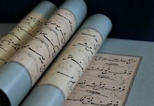 Hulusi Efendi - Arabic calligraphy practice work in Ta'liq  script