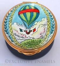 Toye Kenning Spencer Enamels Hot Air Balloon Enamel Box