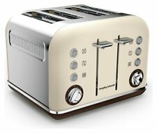 Morphy Richards Accents 4 Slice 7 Settings Wide Slot Toaster 1800W - Sand