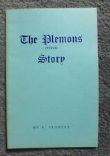 The Plemons (Texas) Story by F. Stanley- Hutchinson County (Gently Used)