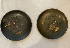 Japanese Mixed Metal Plates, Meiji