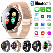AU Smart Watch Bluetooth Heart Rate Tracker Fitness Wristband for IPhone Android