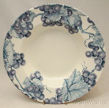 "Pier 1 England VINEYARD Rimmed Soup Bowl 10"" x 1 5/8"" Crazed"