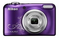 "Camara Digital Compacta Nikon CoolPix A10 16.1MPix LCD 2.7"" Zoom 5x SD Video HD"