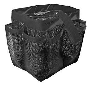 8 Pocket Quick Dry Shower Mesh Basket Tote Bag Breathable Caddy Bathroom Dorm