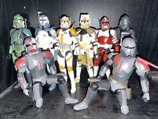 star wars black series clone trooper lot