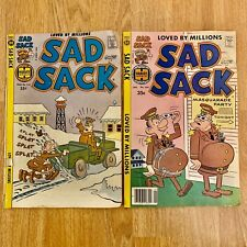 Sad Sack Comic Books Vintage 70's On Guard The Flight No. 261 266 Army Military